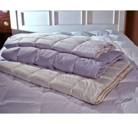 Одеяло пуховое стеганые коллекции Экопух Люкс Зима
