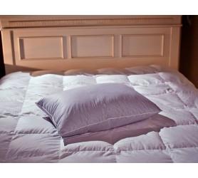 Подушка полупуховая коллекции Экопух Люкс легкая (низкая)