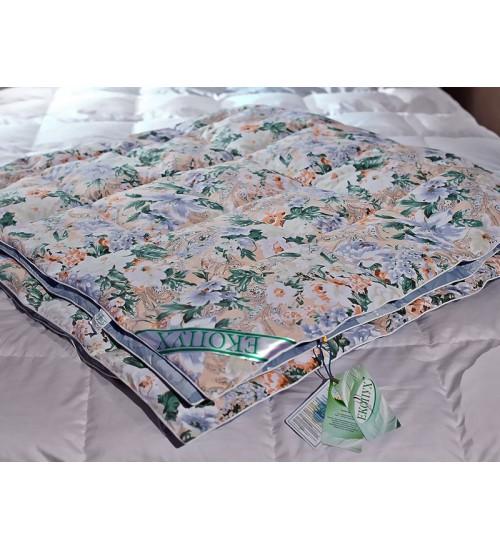 Одеяло пуховое кассетное коллекции Экопух Зима
